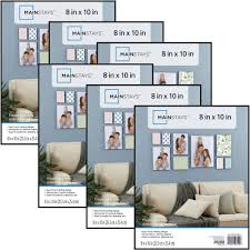 details about mainstays 8x10 format picture frame set of 6