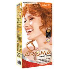 Light Copper Full Kit Lolane Hair Dye Permanent Color Cream Aroma L28 Light Copper Blonde