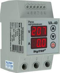 <b>Реле напряжения</b>/тока <b>DigiTOP</b> VA-40A — купить в интернет ...