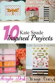 diy office art. Exellent Diy Check Out These Very Doable Kate Spade Inspired Projects Projects Span  From Framed Art To Office Accessories To Diy Office Art