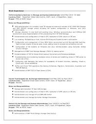 Charming Emc Storage Resume 16 On Example Of Resume with Emc Storage Resume