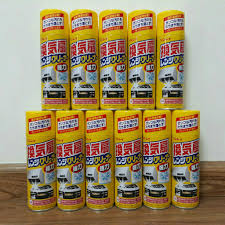Xịt tẩy mảng bám dầu mỡ máy hút mùi quạt thông gió Rinrei Nhật Bản - MuaZii