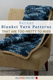 Bernat Blanket Yarn Crochet Patterns