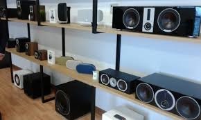 office speaker system. Seen Here An Extensive Range Of DALI Subwoofers, Centre Channel Speakers And Wireless Speaker Systems Office System