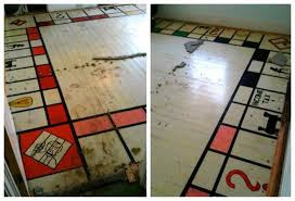 Wooden Monopoly Board Game Man finds giant 'Strip Monopoly' board under carpet NY Daily News 68