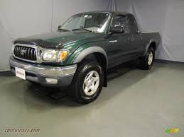 2002 Toyota Tacoma V6 Xtracab 4x4 in Imperial Jade Green Mica ...