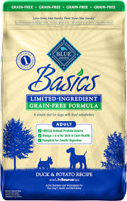 Blue Buffalo Large Breed Puppy Feeding Chart Blue Buffalo Basics Limited Ingredient Grain Free Formula
