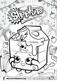 Coloring Pages Shopkins Coloring Pages Online Printable Of Free
