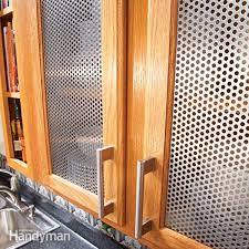 dress up your kitchen with easy to add door panels