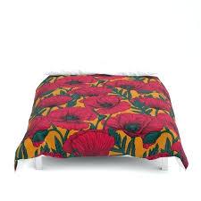 marvelous poppy duvet cover red poppy garden duvet cover poppy duvet cover uk