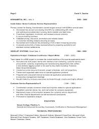 Customer Service Representative Resume Template project contract     SlideShare
