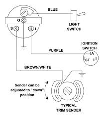 yamaha trim gauge wiring diagram wiring diagrams value