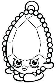 Shopkins Free Printable Coloring Pages Printable Coloring Pages Of