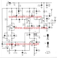 diy wireless audio video sender circuit com diy the wireless video audio signal sender circuit figure 1 circuit diagram