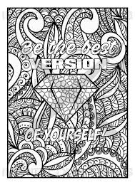 Coloring Page Adult Coloring Coloring Book Printable Coloring Page