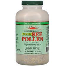 YS Eco Bee Farms Fresh <b>Bee Pollen Granules</b>, Whole, 16.0 oz (454 g)
