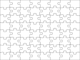 Puzzle Piece Template Delectable Image Detail For Blank Jigsaw Puzzle Template Free Printable FREE
