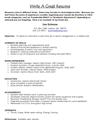 How To Build A Great Resume How To Build A Good Resume Examples Resume For Study 8