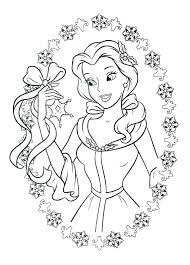 Beauty And The Beast Printable Coloring Pages Beauty And The Beast
