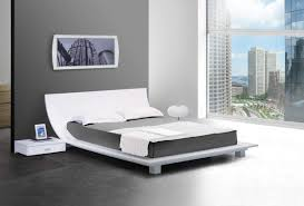 white contemporary bedroom set (photos and video