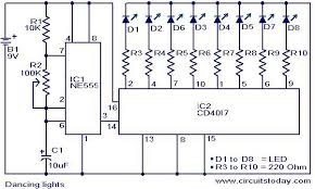 dancing light electronic circuits and diagram electronics dancing light circuit jpg