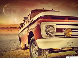 pickup desert truck hd wallpaper