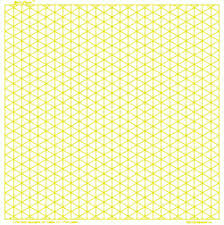 3d Graphics Graph Paper 2mm Yellow Square Land Legal