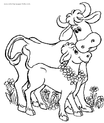 Small Picture Cow color page animal coloring pages color plate coloring sheet