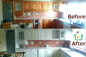 how much does it cost to refinish kitchen cabinets ing cost of repainting kitchen cabinets