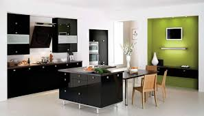 Modern Kitchen Furniture Kitchen Simple Black Kitchen Decor Wall And White Modern Kitchen