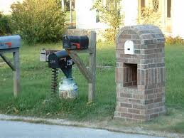 double mailbox designs. Brick Mailbox Designs Ideas Double M