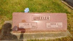 Celia Effie Moister Wheeler (1876-1964) - Find A Grave Memorial