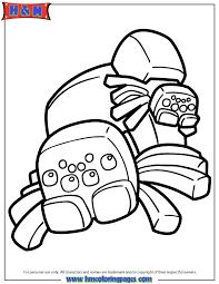 drawn spider minecraft 15