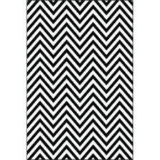 black and white chevron rug black white chevron pattern power loomed area rug