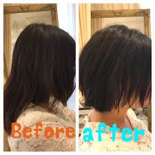 広がりやすい髪質なのでショートは難しい Uih Universal Innovation Hair