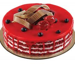 Cgc1190 Red Velvet With Cherry Birthday Cakes At Rs 645 Piece