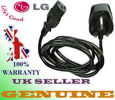 lg tv lead. new genuine lg 37lf65-zc.aeclljg power cable cord lead for lcd tv uk lg a