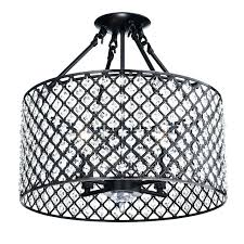 crystal ceiling chandelier ceiling mounted crystal chandelier 4 light oil rubbed bronze round drum semi flush mount crystal chandelier black crystal