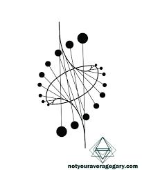 Geometric аг эскиз тату идеи для татуировок и текстильное искусство