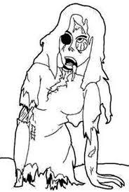 72 best zombie apocalypse images on pinterest funny stuff White House Zombie Apocalypse Plan cartoon zombie girl coloring page Castle Tree House Zombie