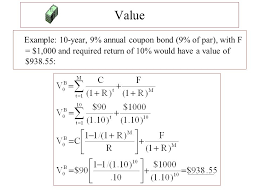 Example Of A Coupon Awesome Chapter 48 Bond Value And Return Ppt Video Online Download