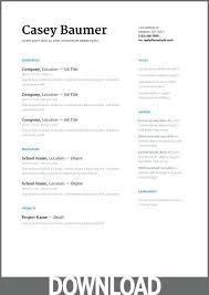 Google Resumes Free Templates Google Doc Resume Google Docs Resume