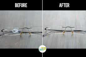 learn how to remove super glue from your eyeglasses
