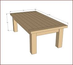 small coffee table plans