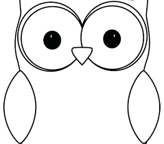 Cute Owl Coloring Pages Luvsiteinfo