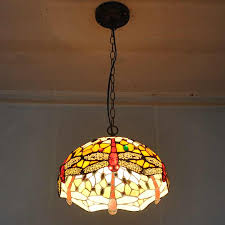 art glass lighting fixtures. European Style 12 Inch Dragonfly Tiffany Chandelier Bedroom Study Glass Lighting Fixtures American Classical Art Cafe-in Pendant Lights From