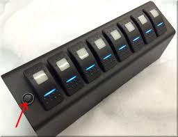 8 circuit se system switch panel version for jeep jk 2009 2017