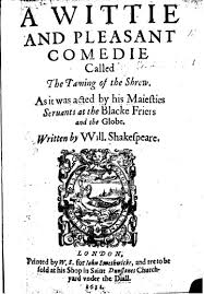 the taming of the shrew back to romeo juliet