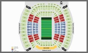Everbank Field Seating Chart Hard Rock Stadium Online Charts Collection