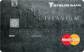 personal cards credit mastercard anium usd lebanon byblos bank
